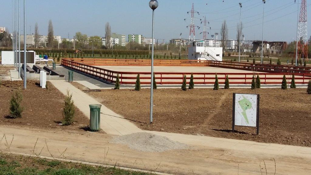 9.Ploiesti, parc Vest-patinoar sezonier fix, pentru agrement in aer liber